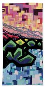 The Fluctuation Of Matter And Spirit Beach Towel