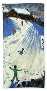 The Footbridge Beach Towel