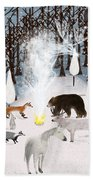 The Forest Guardians Beach Towel