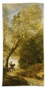 The Forest Of Coubron Beach Towel