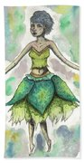 The Forest Sprite Beach Towel