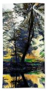 The Forests Of Avalon Beach Towel