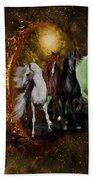The Four Horses Of The Apocalypse Beach Towel