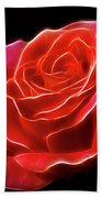 The Fractalius Rose Beach Towel