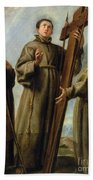The Franciscan Martyrs In Japan Beach Towel by Don Juan Carreno de Miranda