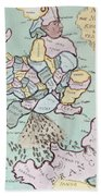The French Invasion Beach Towel