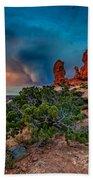 The Garden Of Eden Beach Towel