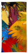 The Garden Of Sins Beach Towel