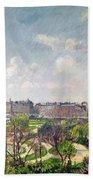 The Garden Of The Tuileries Beach Sheet
