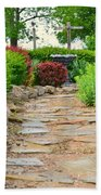 The Garden Path Beach Towel