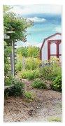 The Garden Shed Beach Towel