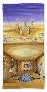 The Gate Keeper Beach Towel by Teresa Gostanza