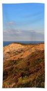 The Gay Head Cliffs In Autumn Beach Towel