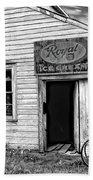 The General Store Bw Beach Towel