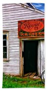 The General Store Painted Beach Towel