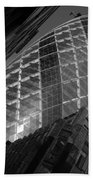 The Gherkin Black And White Beach Towel