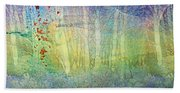 The Ghost Forest Beach Towel