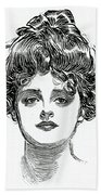 The Gibson Girl Beach Towel