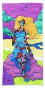 The Girl Series 03 - The Prettiest Girl Beach Towel