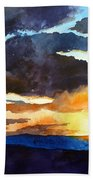 The Glory Of The Sunset Beach Towel