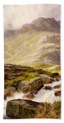 The Glyder Fawr  Beach Towel