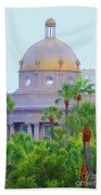 The Gold Dome Beach Towel