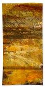 The Gold Light Beach Sheet