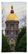 The Golden Dome Beach Towel