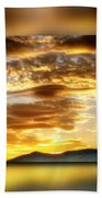 The Golden Hour Beach Towel