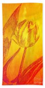 The Golden Tulip Beach Towel