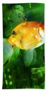 The Goldfish Beach Towel
