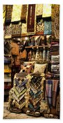 The Grand Bazaar In Istanbul Turkey Beach Towel