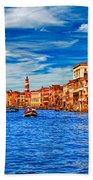 The Grand Canal Beach Towel