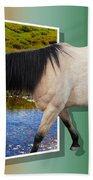 The Grass Is Always Greener On The Other Side Beach Towel