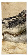 The Great Alligator Beach Towel