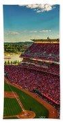 The Great American Ball Park - Cincinnati Beach Towel