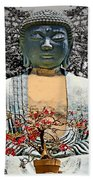 The Great Buddha Beach Towel