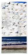 The Great Flock Beach Towel