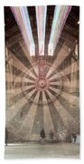 The Great Hall, Winchester Castle, Hampshire Zoom Burst Beach Towel