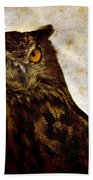 The Great Owl Beach Towel