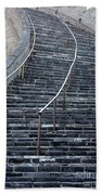The Great Wall Steps Beach Towel