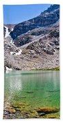 The Green Of Treasure Lake 3  Beach Towel