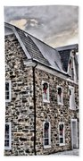 The Grist Mill And Ye Old Tavern Beach Towel