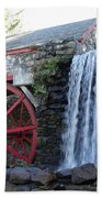 The Grist Mill  Beach Towel