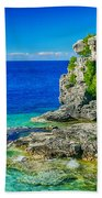 The Grotto Beach Towel