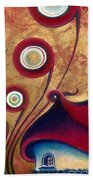 The Guardian Of Changes The Destiny Beach Towel