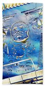The Guardian Beach Towel by Tim Allen