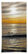 The Gull And Us Beach Towel