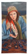 The Gypsy Fortune Teller Beach Towel