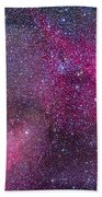 The Heart And Soul Nebulae Beach Towel